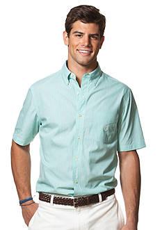Chaps Short-Sleeve Striped Shirt