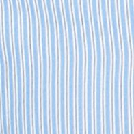 St Patricks Day Outfits For Men: Riviera Blue Chaps Short-Sleeve Striped Shirt