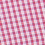 Men: Chaps Casual Shirts: Lighthouse Red Chaps Short-Sleeve Plaid Shirt