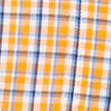Men: Chaps Casual Shirts: Orange Chaps Short-Sleeve Plaid Shirt