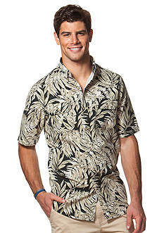 Chaps Short-Sleeve Tropical Shirt