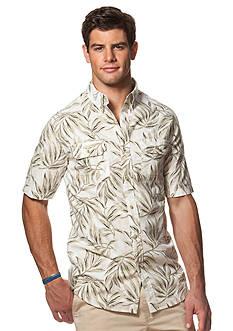 Chaps Short-Sleeve Tropical Shirt