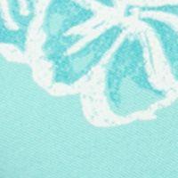 Chaps Men Sale: Pale Aqua Chaps Floral Polo Shirt