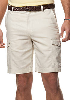 Chaps Linen-Cotton Cargo Shorts