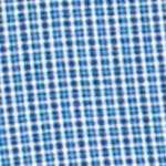 Men: Chaps Casual Shirts: Crayon Blue Chaps Mini-Checked Poplin Shirt
