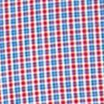 Men: Chaps Casual Shirts: Chaps Red Chaps Mini-Checked Poplin Shirt