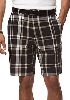 Chaps Plaid Cotton Shorts