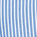 Men: Chaps Casual Shirts: Crayon Blue Chaps Striped Poplin Shirt