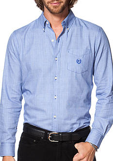 Chaps Glen Plaid Twill Shirt