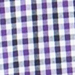 St Patricks Day Outfits For Men: Vista Purple Chaps Gingham Poplin Shirt