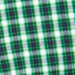 St Patricks Day Outfits For Men: Ultra Green Chaps Checked Poplin Shirt