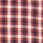 St Patricks Day Outfits For Men: Dusk Orange Chaps Checked Poplin Shirt