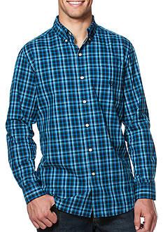 Chaps Plaid Poplin Shirt