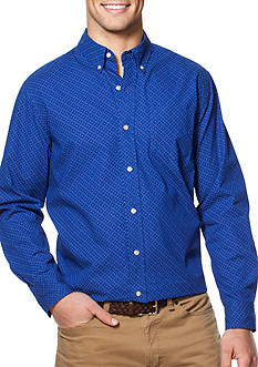 Chaps Printed Cotton Button-Down Shirt