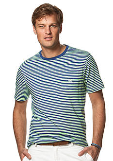 Chaps Striped Cotton Jersey T-Shirt