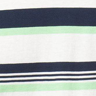 Chaps Men: White Sand Chaps Striped Cotton Jersey T-Shirt