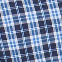 Big & Tall: Chaps Casual Shirts: Newport Navy Chaps EASYCARE MED PLAID-ORG