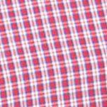 Chaps Big & Tall Sale: Light House Red Chaps Big & Tall Short-Sleeve Checked Shirt