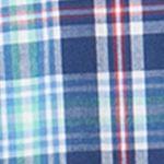 Chaps Big & Tall Sale: Vineyard Royal Chaps Big & Tall Short-Sleeve Plaid Shirt
