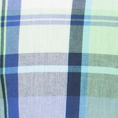 Chaps Big & Tall Sale: Key Lime Chaps Big & Tall Short-Sleeve Plaid Shirt
