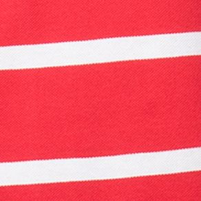 Chaps Big & Tall Sale: Lighthouse Red Chaps Big & Tall Striped Piqu Polo Shirt