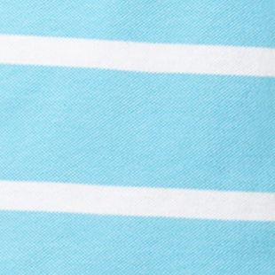 Chaps Big & Tall Sale: French Turquoise Chaps Big & Tall Striped Piqu Polo Shirt