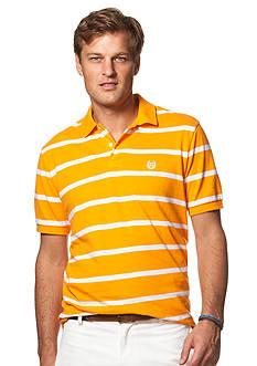 Chaps Big & Tall Striped Piqu Polo Shirt