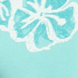 Chaps Big & Tall Sale: Pale Aqua Chaps Big & Tall Floral Polo Shirt