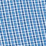 Mens Big and Tall Casual Shirts: Check & Plaid: Crayon Blue Chaps Big & Tall Mini-Checked Poplin Shirt