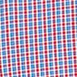 Mens Big and Tall Casual Shirts: Check & Plaid: Chaps Red Chaps Big & Tall Mini-Checked Poplin Shirt