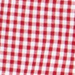 Mens Big and Tall Casual Shirts: Check & Plaid: Chaps Red Chaps Big & Tall Gingham Poplin Shirt