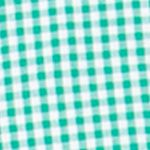 Mens Big and Tall Casual Shirts: Check & Plaid: Astro Green Chaps Big & Tall Gingham Poplin Shirt