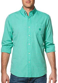 Chaps Big & Tall End-on-End Poplin Shirt