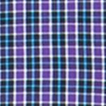 Mens Big and Tall Casual Shirts: Check & Plaid: Vista Purple Chaps Big & Tall Plaid Poplin Shirt