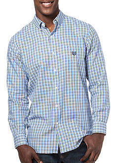 Chaps Big & Tall Gingham Twill Shirt