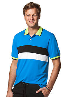 Chaps Big & Tall Striped Polo Shirt