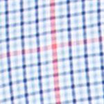Chaps Big & Tall Sale: Graphic Royal Chaps Big & Tall Checked Poplin Shirt