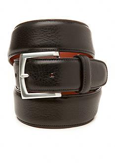 Bosca Calf Grain Leather Belt