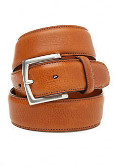Bosca Calf Grain Leather Belt