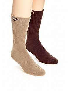 Columbia 2pk Lifestyle Endless Adventure Wool Crew Socks