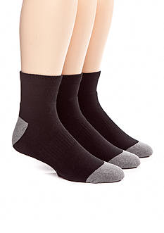Columbia™ 3-Pack Athletic Quarter Socks