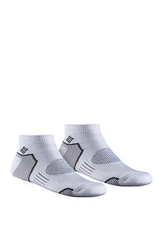 Columbia Balance Point™ Walking Low Cut Socks - 2 Pack