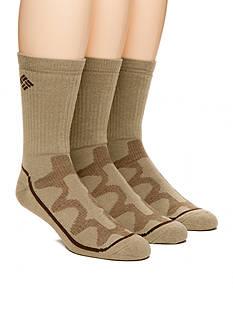 Columbia™ 3-Pack Mesh Tech Crew Socks