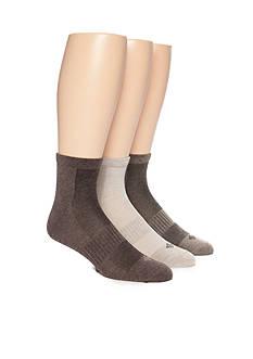 Columbia Lightweight Flat Knit Quarter Socks - 3 Pack