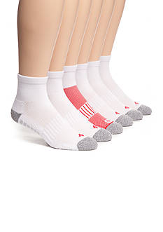 Columbia™ Athletic Quarter Length Socks - 6 Pack