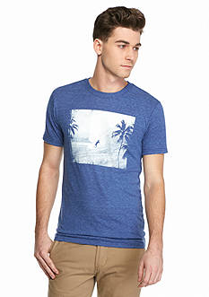 Red Camel Short Sleeve Tonal Surf Crew Graphic Tee