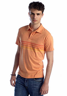 Red Camel® Triblend Stripe Polo