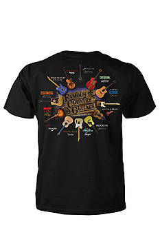 Taboo Famous Country Guitars Tee