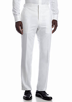 Savile Row Slim White Suit Separate Pants