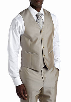 Savile Row Slim Tan Suit Separate Vest
